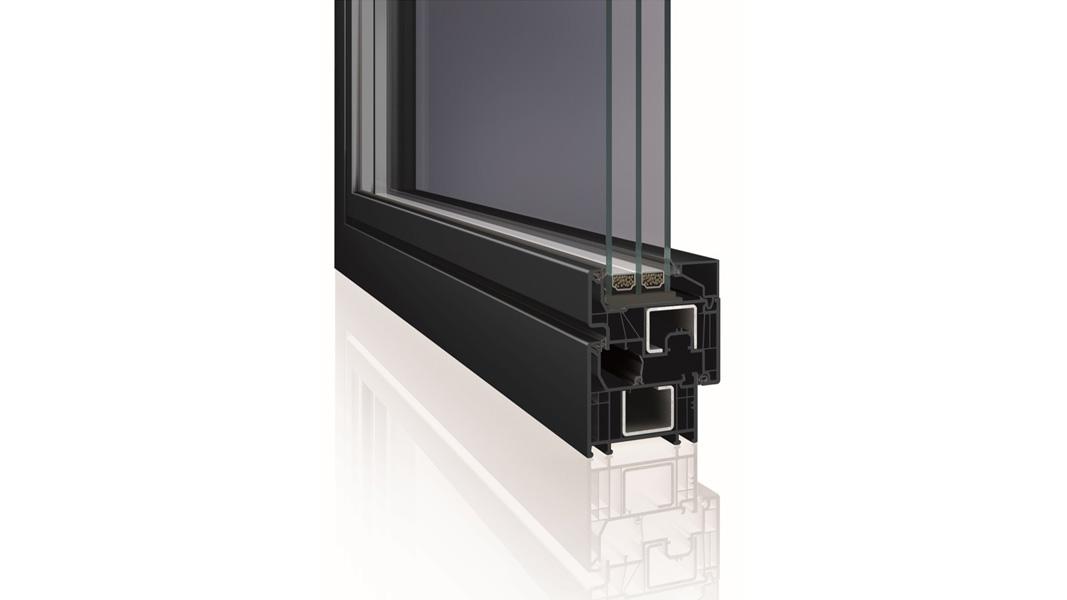 Okno Deceuninck Elegante - nowy system profili okiennych od Deceuninck