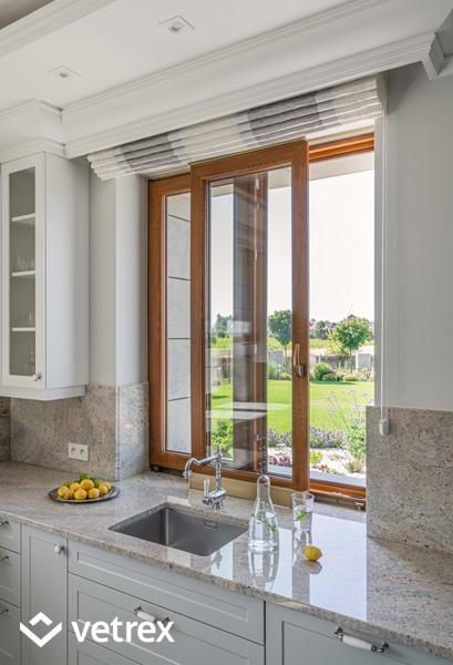 Vetrex Patio Light - okno przesuwne do kuchni