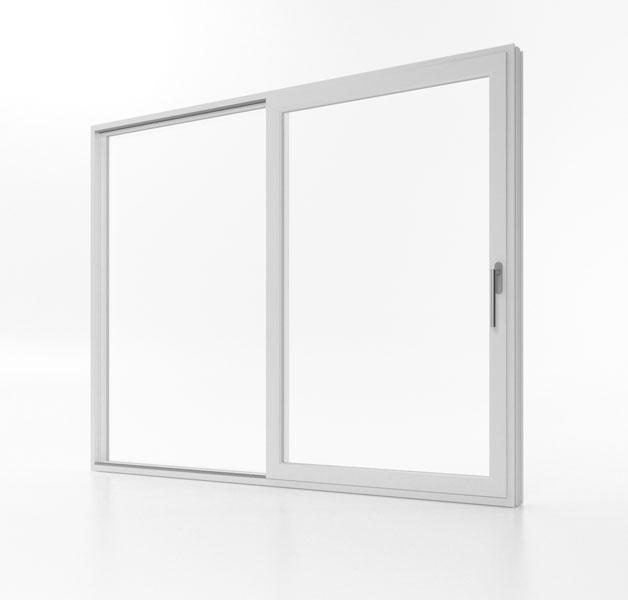 Drzwi przesuwne Aluplast Smart-Slide w pozycji zamkniętej