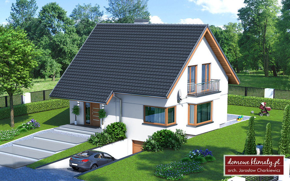 Projekt domu As III P