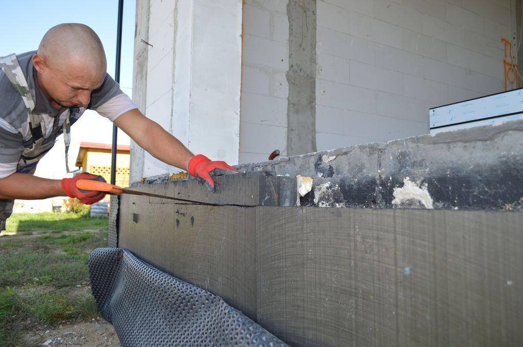 Przygotowanie płyty fundamentowej do montażu drzwi tarasowych HST