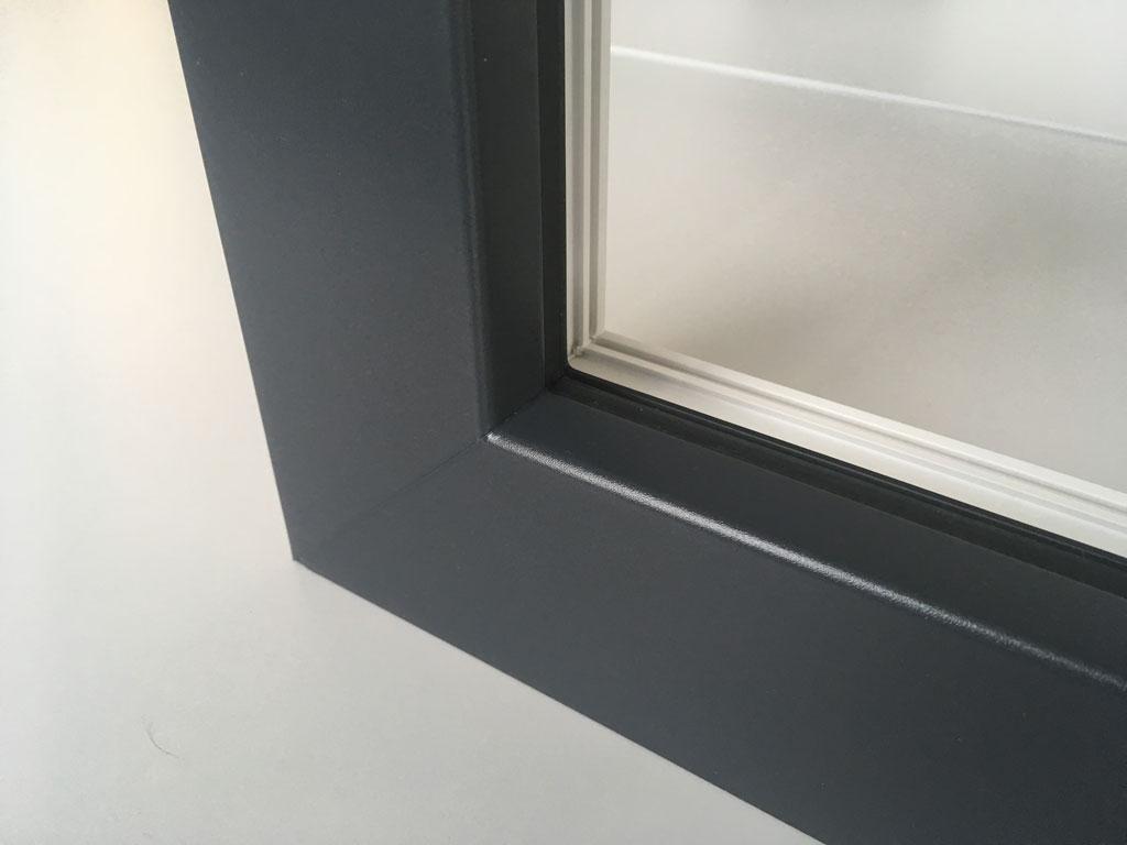 Okno kolor antracyt