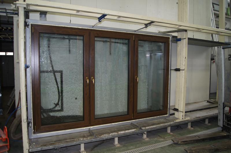 Trójdzielne okno Passiv-line PLUS na stanowisku badawczym ITB