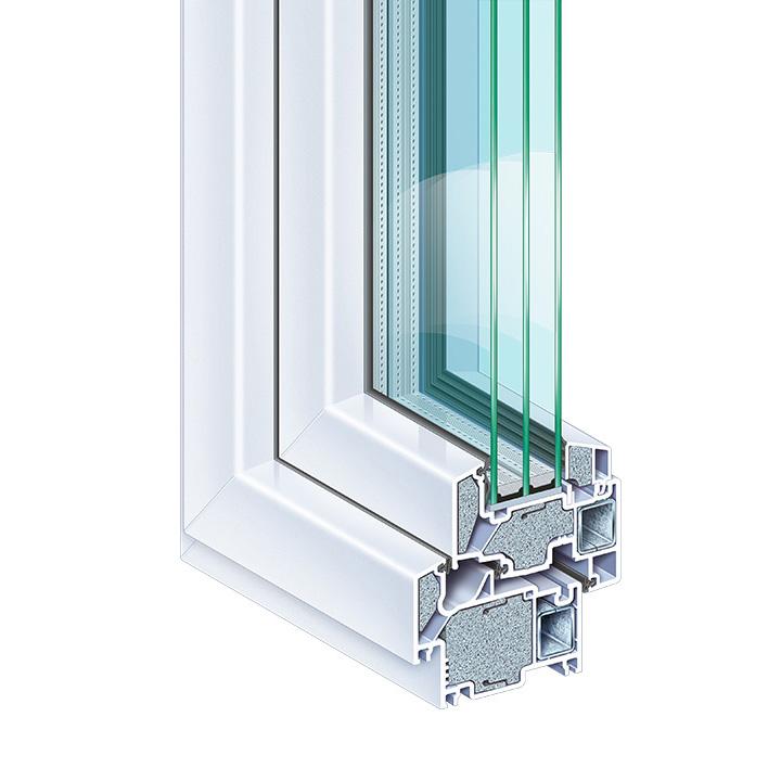 Okno pasywne Profine eCO2