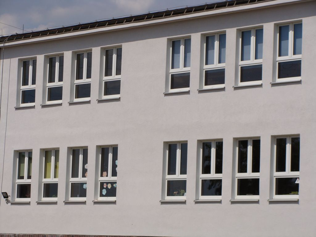 Okna w szkole