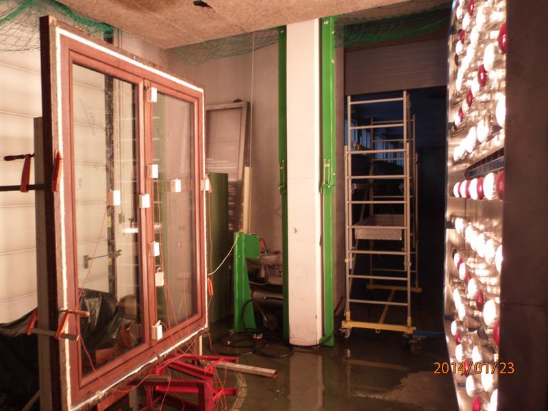Oknoplast Winergetic Premium badanie odporności na działanie wysokich temperatur