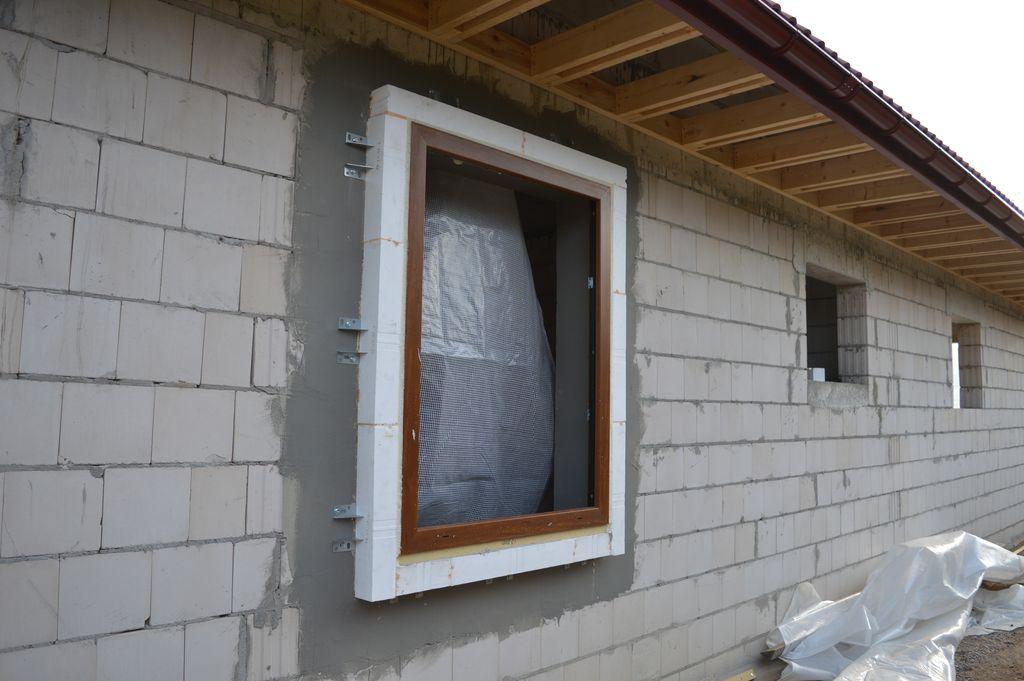 Ciepła Belka Montażowa, rama nośna z osadzoną ościeżnicą okna AdamS Passiv-line PLUS