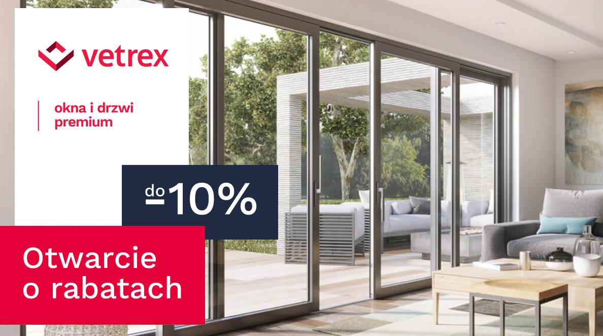 Promocja na okna Vetrex