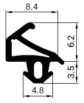 Uszczelka S - 1155 do okna PCV