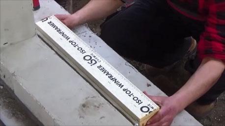 Mocowanie chemiczne elementu nośnego do ściany konstrukcyjnej