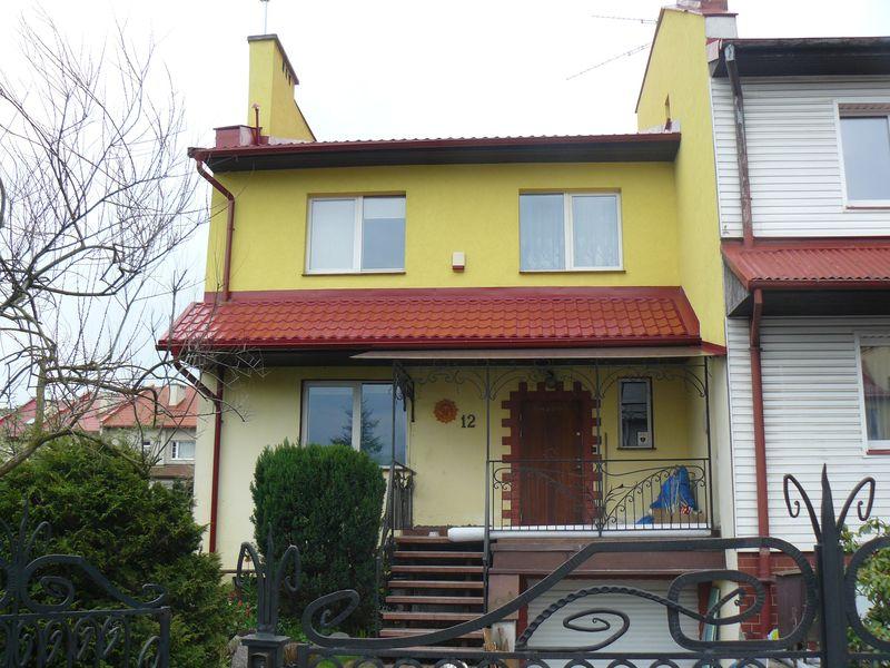 Dom jednorodzinny - bliźniak. Gdańsk.