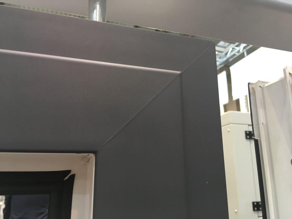 Zgrzew V-Perfect w oknie PVC