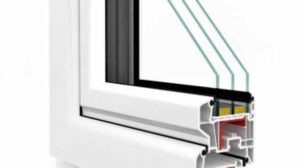 Okna PCV VETREX V82 BLACK DESIGN