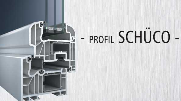 OKNA PCV - profile okienne SCHÜCO