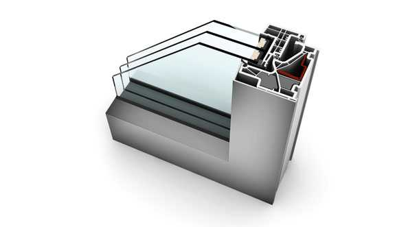 Okno KF 500 Internorm
