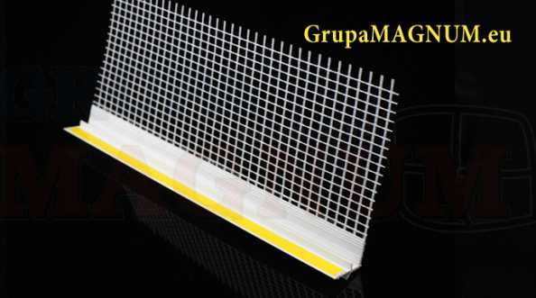 Sklep Grupa MAGNUM Profile przyokienne z siatką
