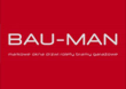 BAU-MAN CENTRUM OKIEN I DRZWI logo