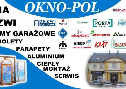 Centrum Stolarki Okiennej i Drzwiowej OKNO-POL  logo