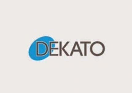 Dekato, drzwi wewnętrzne i montaż logo