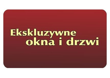 EKSKLUZYWNE OKNA I DRZWI logo