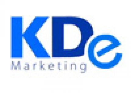 KDe Marketing logo
