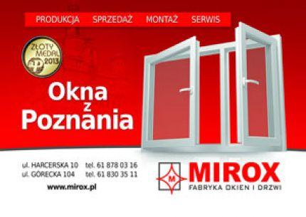 Fabryka Okien i Drzwi MIROX logo