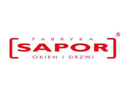 FABRYKA OKIEN I DRZWI SAPOR  logo
