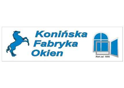 Konińska Fabryka Okien logo