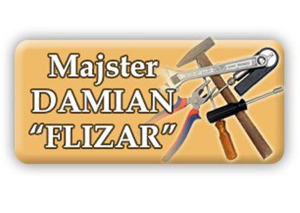 Majster Damian Flizar logo