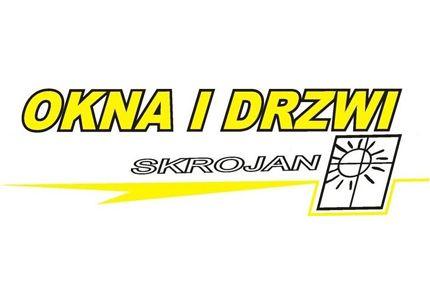 OKNA I DRZWI SKROJAN logo