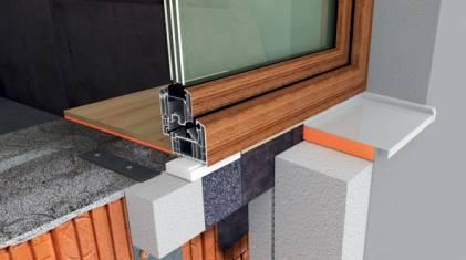Montaż okien w warstwie ocieplenia - EJOT WIMOUNT