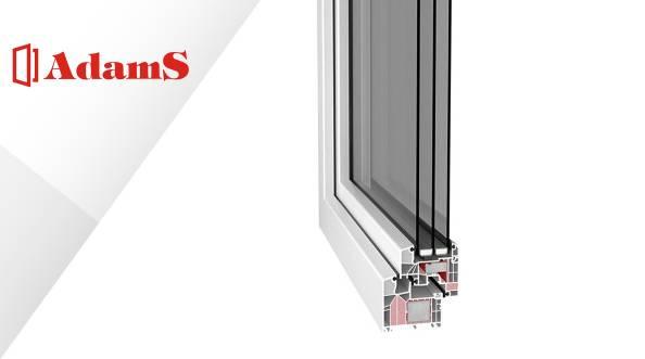 AdamS Passiv-line S - dojrzałe okna z dojrzałej firmy