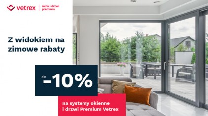 Promocja Vetrex - Z widokiem na zimowe rabaty do -10%