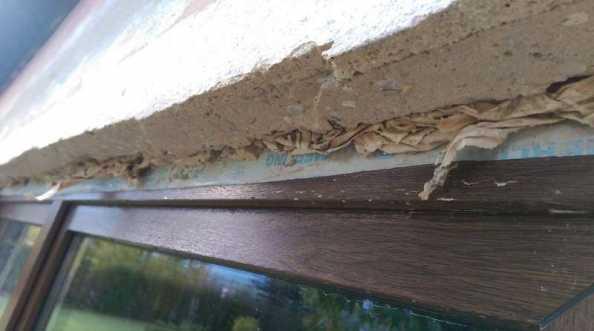 Okna i drzwi balkonowe - błąd montażu