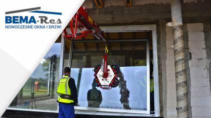 Prawidłowy montaż drzwi tarasowych HST - Bema-Res