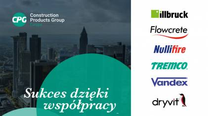 Construction Products Group Europe - nowa grupa marek budowlanych