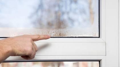 Dlaczego okna parują zimą