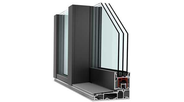Drzwi balkonowe HST KS 430 Internorm - przenikalność cieplna
