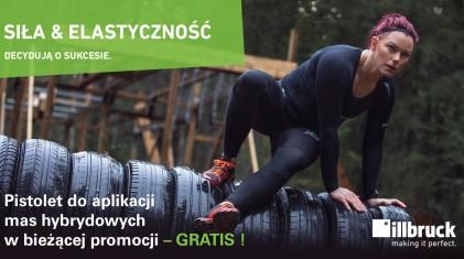 Promocja illbruck - pistolet do aplikacji mas hybrydowych - GRATIS!