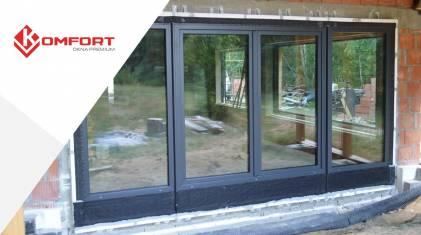 Montaż dwuskrzydłowych drzwi balkonowych w systemie CBM