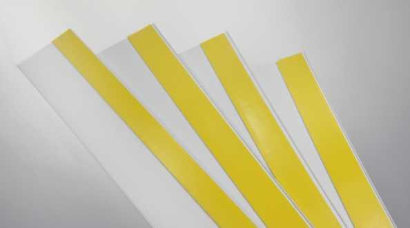 Listwy maskujące PCV białe bez uszczelki