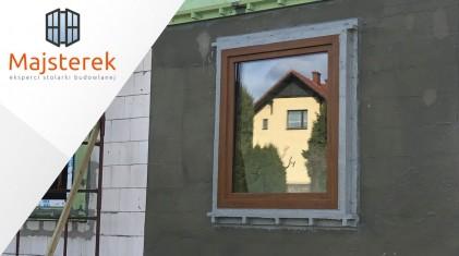 MAJSTEREK - montaż okien w warstwie ocieplenia NYXON GREEN