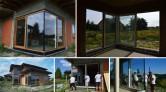 Montaż aluminiowych dwuskrzydłowych drzwi balkonowych HST z glass cornerem