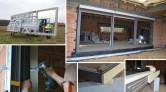 Montaż drzwi tarasowych HST z aluminium