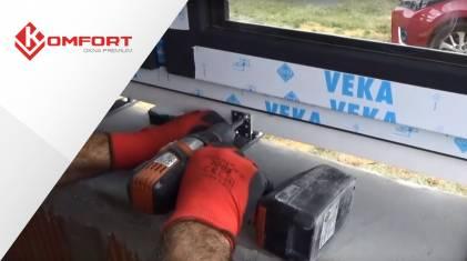 Montaż okien antywłamaniowych Vetrex V82 ProSafe