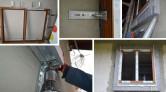KOMFORT - montaż okien na konsolach, przeciwwłamaniowo i szczelnie