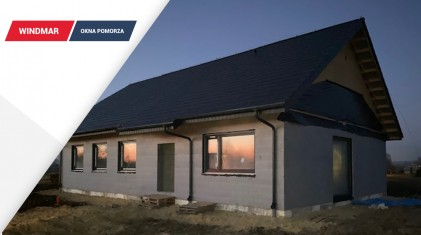 WINDMAR - montaż okien w murze z pustaków styropianowych