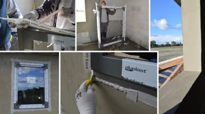 Amar - prawidłowy montaż okna w ścianie z betonu komórkowego