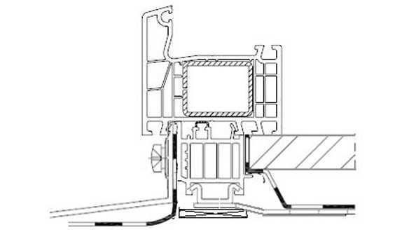 Profile okienne PVC, (kształtowniki) - listwy progowe, transportowe i lizeny