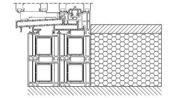 Profile okienne PVC, (kształtowniki) - poszerzenia i łączniki systemowe